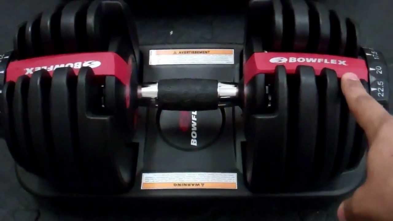 Bowflex SelectTech 552 Adjustable Dumbbells Review