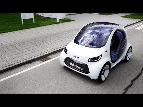次世代的智能汽車 Smart Vision EQ