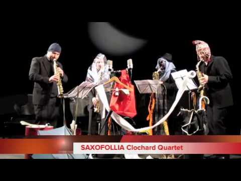 SAXOFOLLIA Clochard Quartet