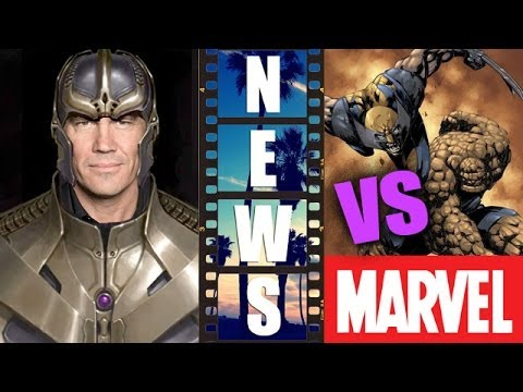 Josh Brolin is Thanos, Marvel vs Fox re X-Men 2016 & Fantastic Four 2015 - Beyond The Trailer