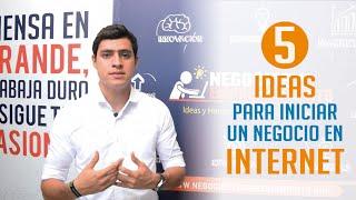 Ideas de Negocios para ganar dinero en Internet