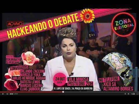 #ZONAELEITORAL na Vila Mimosa - Hackeando o Último Debate
