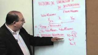 MEDIDAS DE VARIACIÓN O DISPERSIÓN PARTE 1
