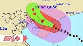 Tiêu điểm bản tin tối 04/10/15: Diễn biến bão số 4 tại Việt Nam | VTC