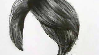 Cómo dibujar cabello con lápiz de grafito