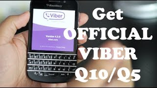 How To Install Viber 10 OFFICIAL For BlackBerry Q10/Q5