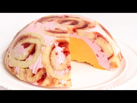 Jelly Roll Ice Cream Bombe Recipe