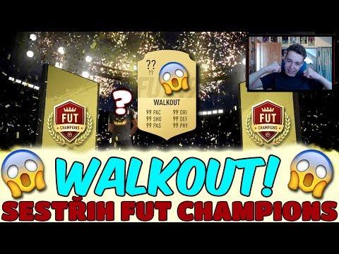 WALKOUT! PACK OPENING + FUT CHAMPIONS #5   FIFA 19 CZ