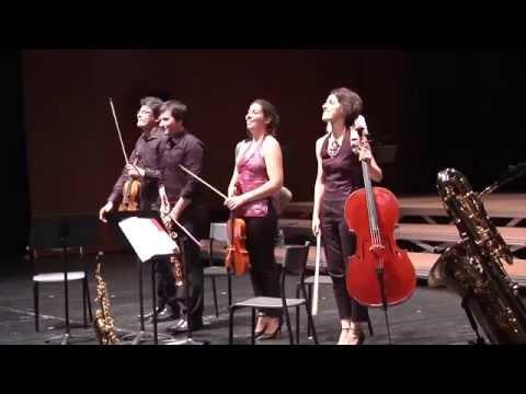 Quatuor Carré Mêlé – 130 years Henri SELMER Paris – SaxOpen Strasbourg 2015
