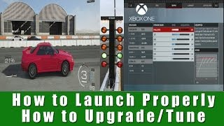 FM5 Drag Racing How To Launch Properly + How To Upgrade