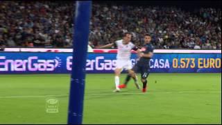 Napoli-Cesena 3-2 36a giornata di Serie A TIM 2014/2015 Sintesi (4 min)