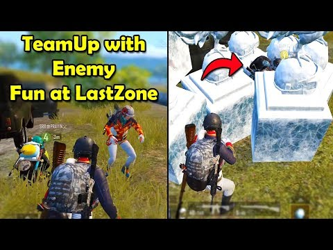 Teamup with Enemy and FUN at Last Zone😂🤣