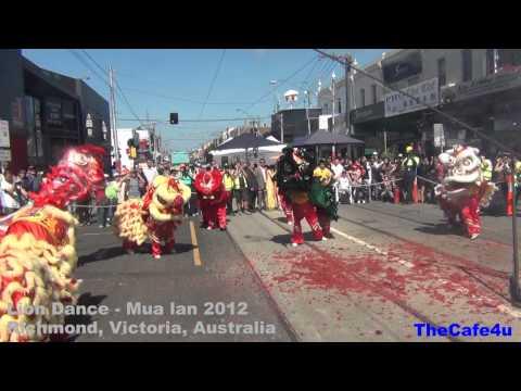 Hoi Cho Tet In Australia 2012 - Lion Dance- Mua Lan (Richmond)