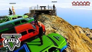 GTA 4x4 OFF-ROADING!!! CUSTOM TRUCKS! GTA 5 Hanging