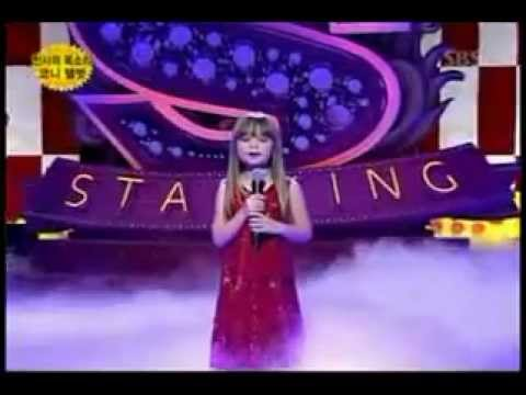 Connie Talbot part 1 - The video you perhaps never saw / Somwhere Over