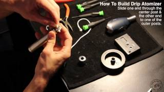 How To Build A Drip Atomizer (STEP BY STEP), Dual Coil, 0