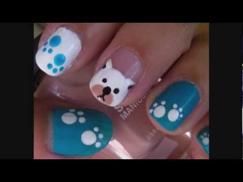 Dog Puppy Nail Art Design Nail Art Video