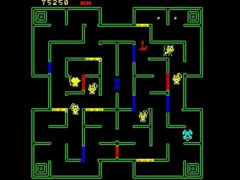 MOUSE TRAP ARCADE EXIDY 1981 CLASSIC RETRO VIDEO GAME