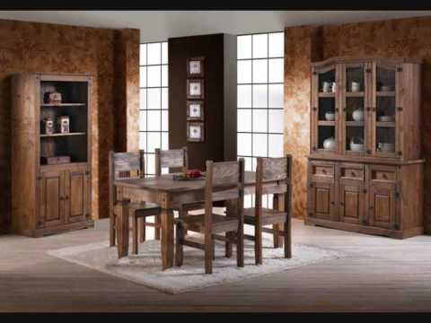 muebles rusticos salon en mobles salvany youtube On sillones rusticos modernos