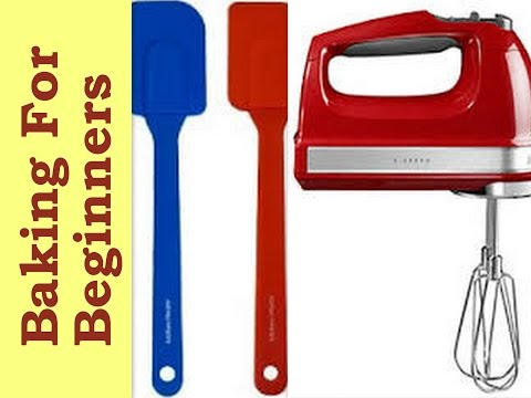 Essential Basic Baking Tools For Beginners & How To Use Them.