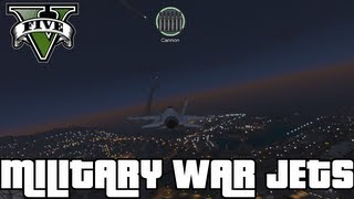"""GTA 5"" - ""P-996 LAZER"" - MILITARY Fighter Jet FULL Gameplay (""Military Jet Gameplay"") Jet Plane"