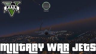 """GTA 5"" - ""P-996 LAZER"" - MILITARY Fighter Jet FULL Gameplay (""Military Jet Gameplay"") Jet Plane"