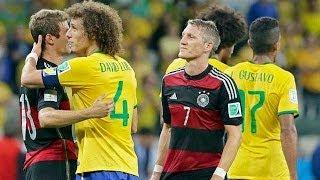Brasil 1 - 7 Alemania, semifinal del Mundial