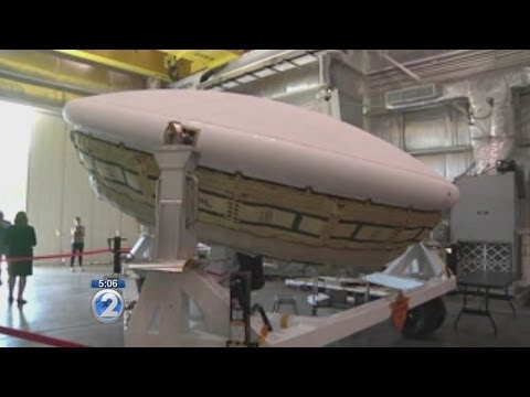NASA's saucer-shaped craft preps for Kauai flight test
