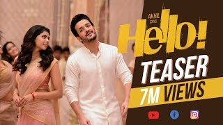 Akhil's HELLO! Movie Teaser