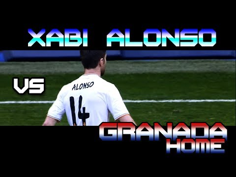 Xabi Alonso vs Granada HOME ( 25 - 01 - 2014 / 25/01/2014 - 25.01.2014 ) [HD]