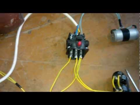 Подключение электро двигателя