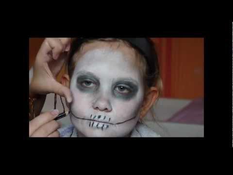 [Tutorial] Halloween - Kinderschminken mit Saskia :)