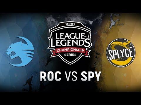 ROC vs. SPY - Quarterfinals Game 3   EU LCS Spring Playoffs   Team Roccat vs. Splyce (2018)