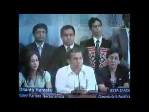 CUANDO Ollanta Humala PEDIA LA  vacancia DE ALAN GARCÍA