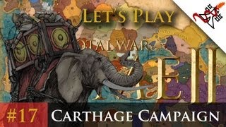 """Let's Play - Total War: Rome 2 - Carthage Campaign Ep.17 """"Amazing Battles"""""""