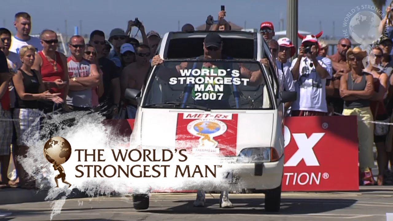 Mariusz pudzianowski the world strongest man
