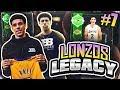 LONZOS LEGACY 7 AMETHYST PLAYER PULL NBA 2K18 MYTEAM