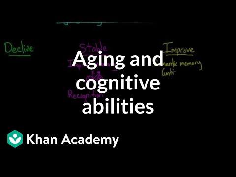 Aging and cognitive abilities