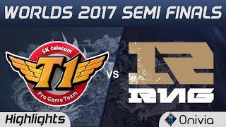 SKT vs RNG Highlights Game 1 World Championship 2017 Semi Finals SK Telecom T1 vs Royal Never Give U