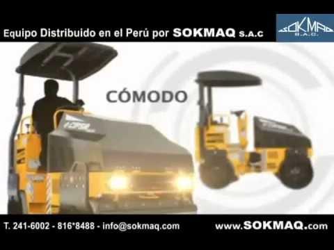 RODILLO VIBRATORIO COMPACTADOR CIPSA AR25 - SOKMAQ S.A.C.
