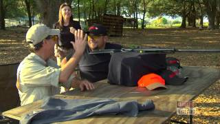 Jon Brunson With Gamo Socom Extreme .25 Cal Air Rifle