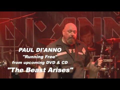 Paul Di'Anno - Running Free live (The Beast Arises DVD)