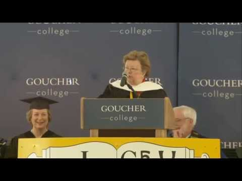 Barbara Mikulski commencement address to Goucher class of 2014