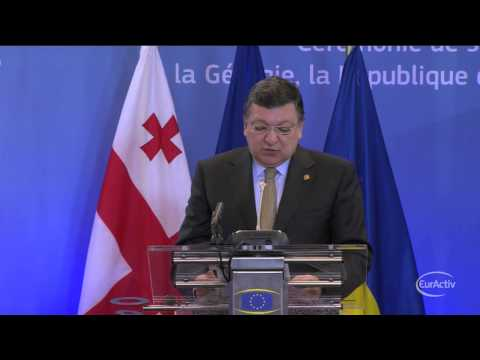 Barroso: Supporting Moldova, Georgia, Ukraine is a solemn commitment for the EU