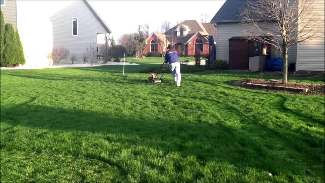 how to make a 9 hole backyard golf course 2013 youtube