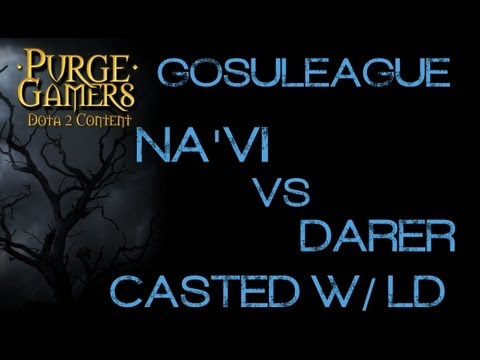 Dota 2 Na'Vi vs Darer g2 GosuLeague w/ LD