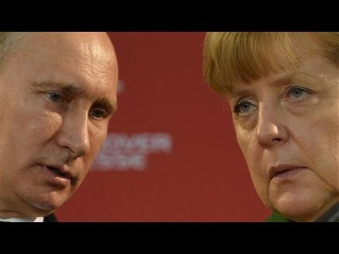 Meet The Putin Whisperer: Germany's Angela Merkel