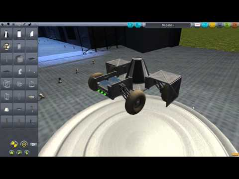 Let's Play Kerbal Space Program ver. 0.20.2.186 - Part 2: Construction of