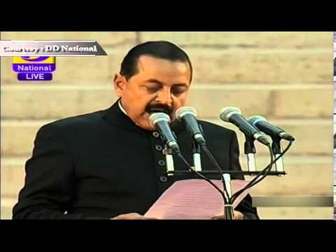 Dr. Jitendra Singh sworn-in as MoS (Independent Charge)