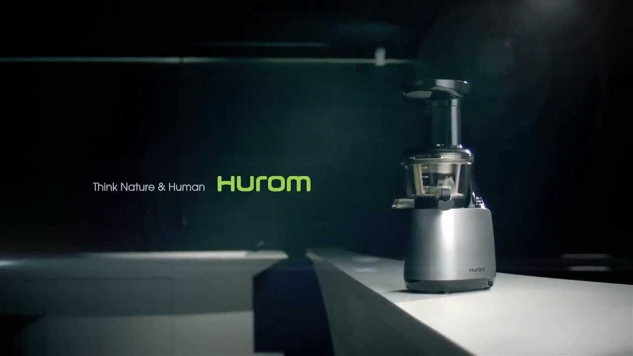 The Best Rated Masticating Juicer : The 2013 Hurom Masticating Juicer - YouTube